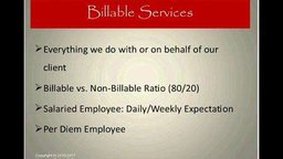 Billing Services and Organizational Skills