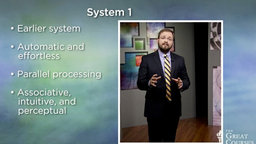 The Two-System Model of Decision Making